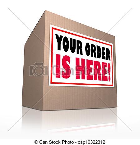 Parcel clipart cardboard box Here cardboard Box of