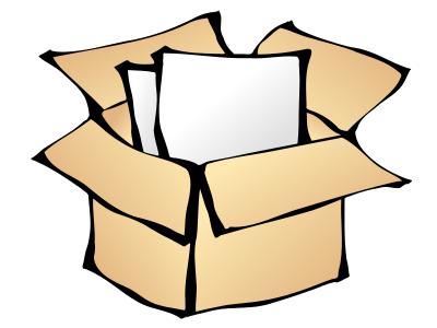 Box clipart storage unit Clipart Cardboard 1 Free Box