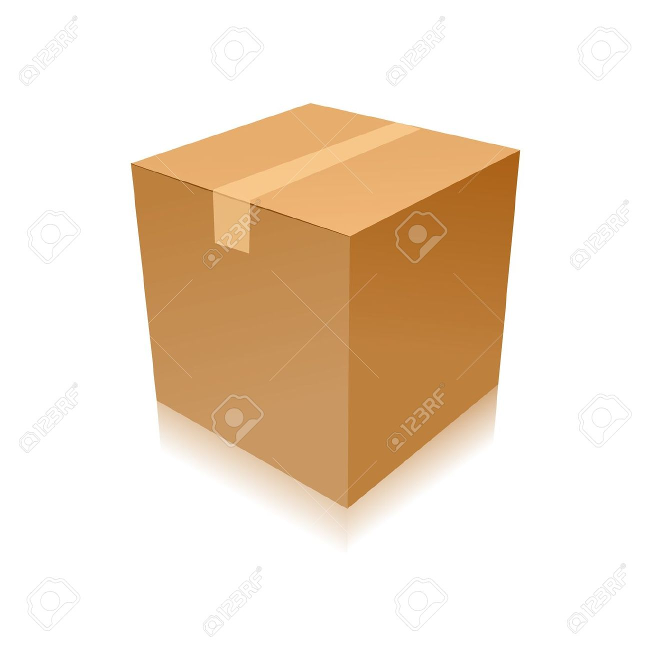 Parcel clipart cardboard box Box Parcel Download Delivery Delivery