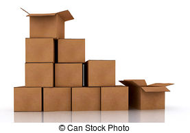 Parcel clipart closed box Illustrations Package 602 211 Package