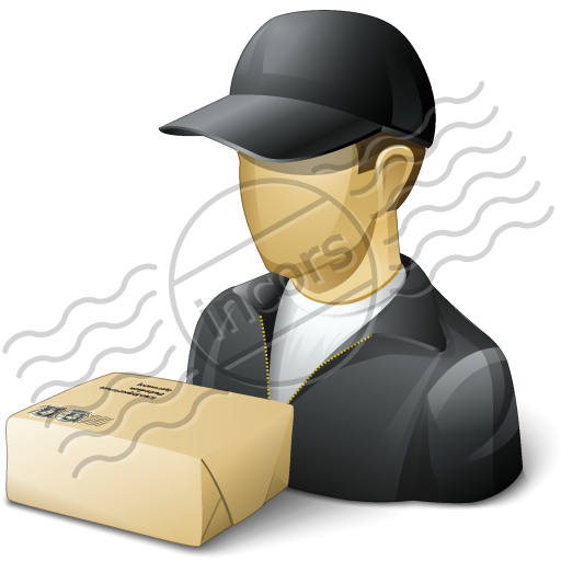 Parcel clipart delivery man Parcel Delivery 16 clip com