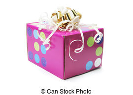 Parcel clipart gift 20 on Background Stock