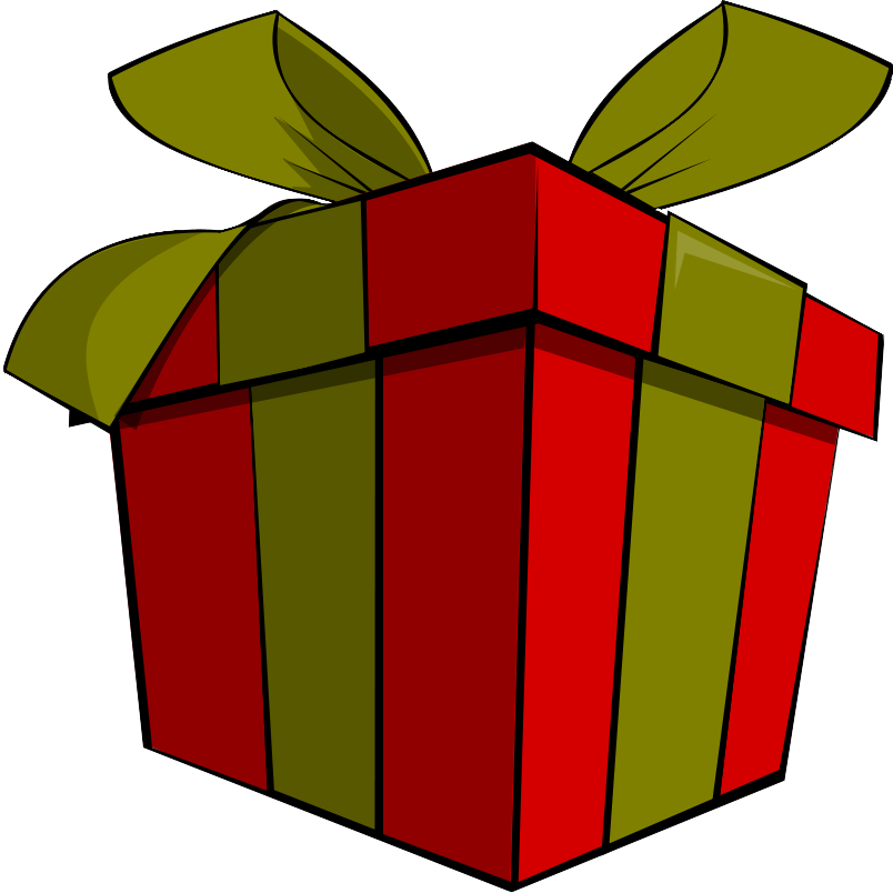 Parcel clipart gift Wedding Clipart Clipart gift clipart
