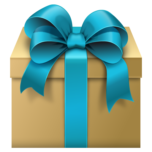 Parcel clipart gift  with Art on Pictures