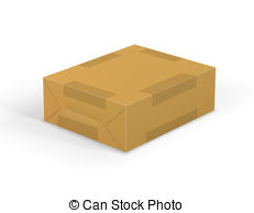 Parcel clipart mail Brown mail Clipart wrap with
