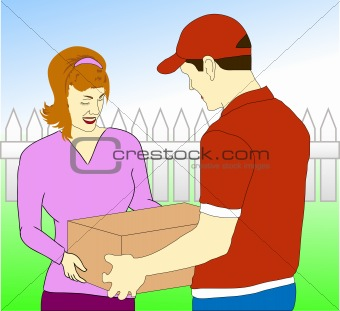 Parcel clipart interface Service Image Service 4630401: Delivery