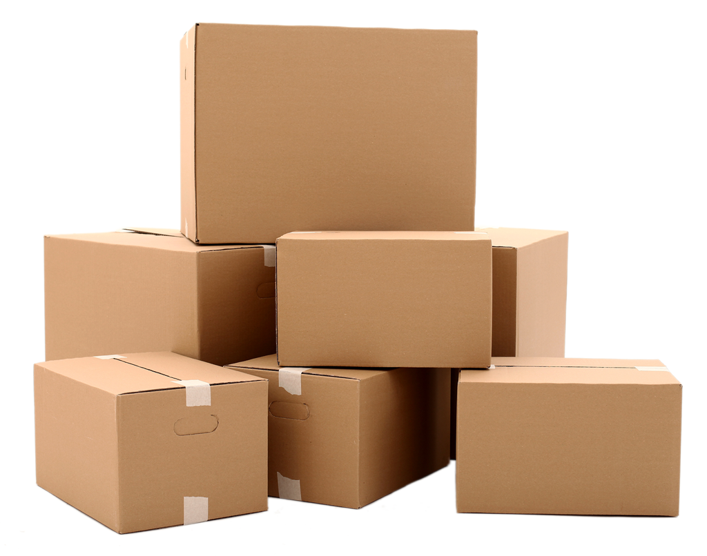 Box clipart storage unit Pinterest cardboard Corrugated stacked boxes