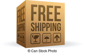 Box clipart shipping box Free of Free Shipping Order