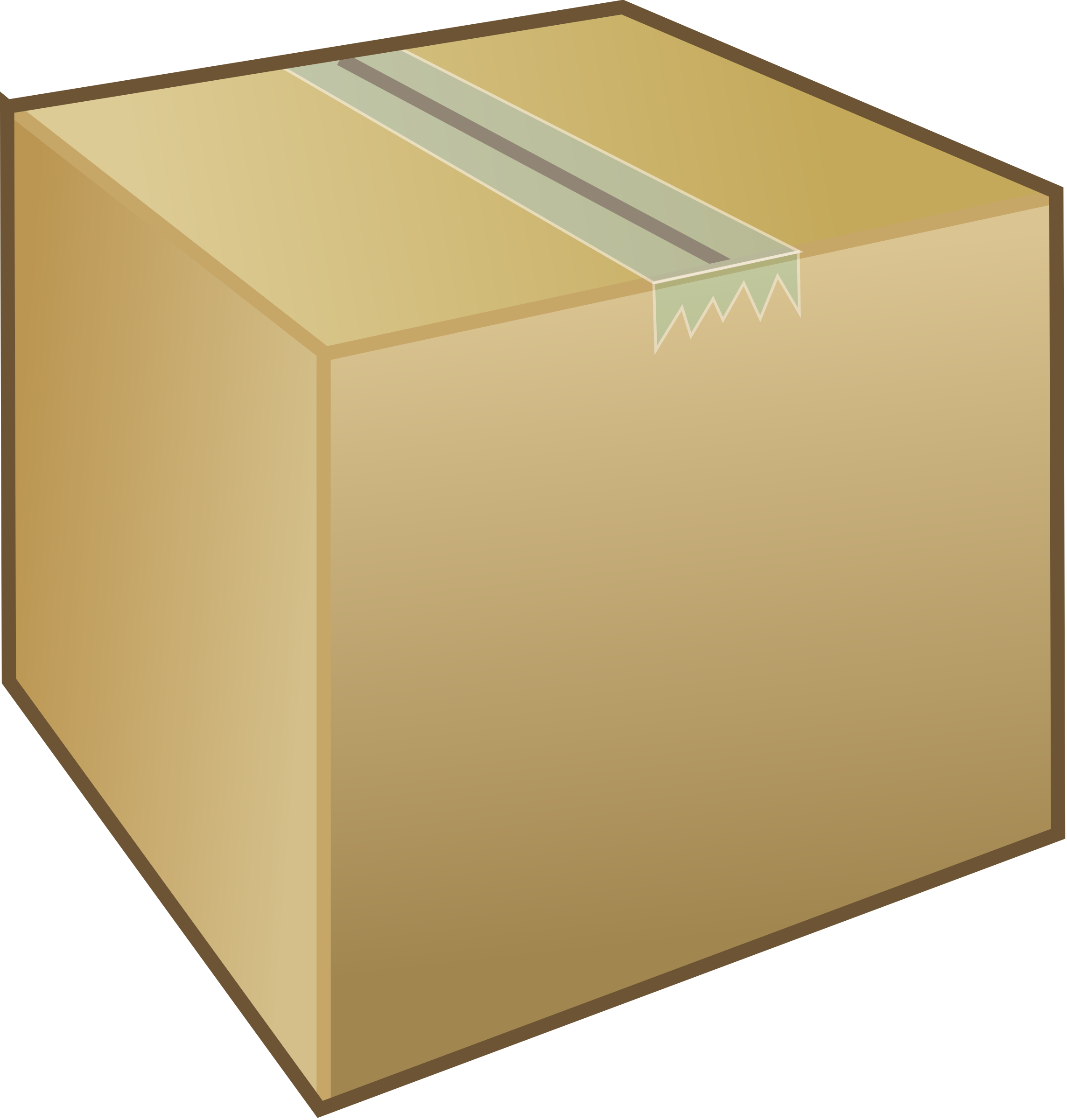 Box clipart transparent background Clipart package box Cardboard /