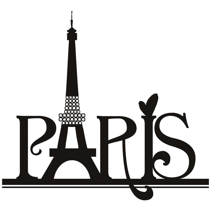 Eiffel Tower clipart silhouette The tower tower art art