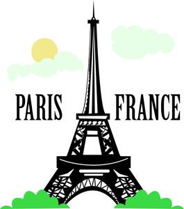 Paris clipart Paris Free Paris Art