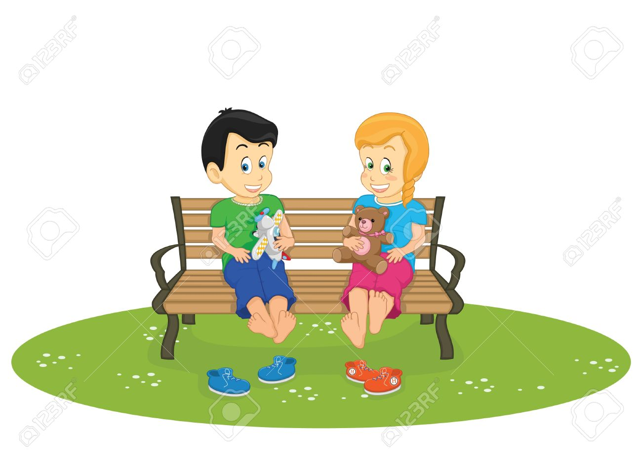 Park Bence clipart school bench #11