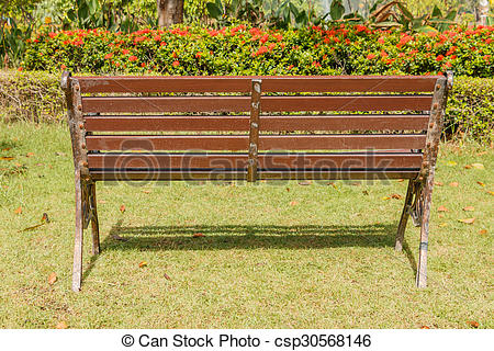 Park Bence clipart wooden chair  the Stock Bench Park