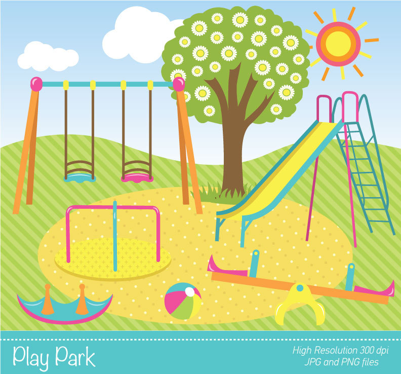 Place clipart play park #1