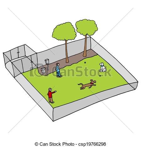Park clipart dog park Park csp19766298 a csp19766298 dog
