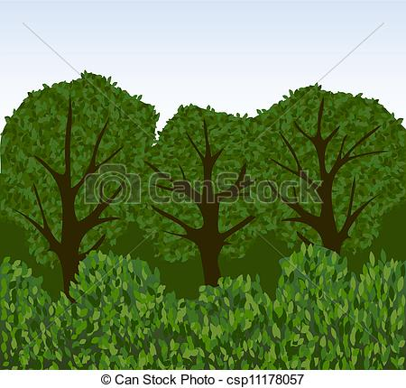 Park clipart forest tree Csp11178057 or or park csp11178057