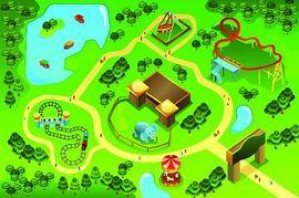 Park clipart map Free Images Panda of amusement