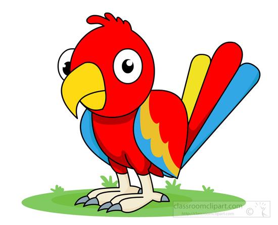 Parrot clipart #11