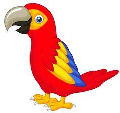 Parrot clipart #15