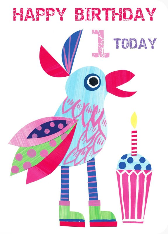 Parrot clipart happy Press by Blue Birthday Blue