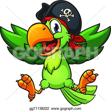 Parrot clipart happy In Vector pirate simple parrot