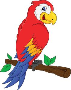 Scarlet Macaw clipart animated #6