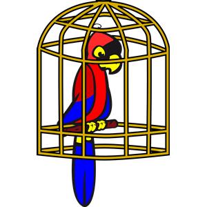 Cage clipart pet bird Cage Bird Bird Bird Pet