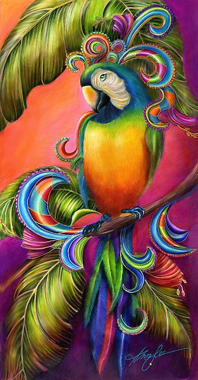 Parrot clipart rainbow color You  25+ dosen't Colorful