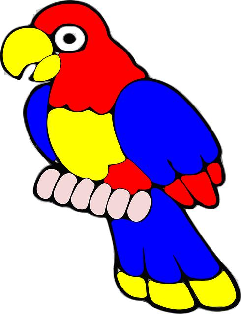 Brds clipart burung Graphic: Parrot clipart bird Free