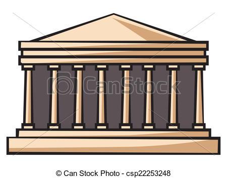 Parthenon clipart #15