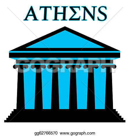 Parthenon clipart GoGraph Clip Parthenon Art symbol