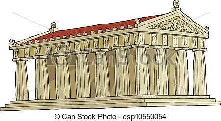 Parthenon clipart #12