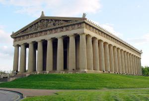 Parthenon clipart Replica Art Tenenssee Parthenon Nashville