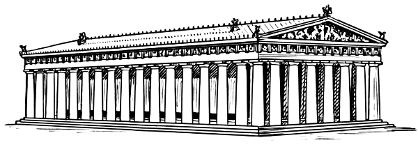 Parthenon clipart great wall china Clip Download Art Parthenon Parthenon