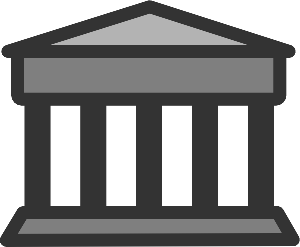 Parthenon clipart black and white Vector image Parthenon at clip