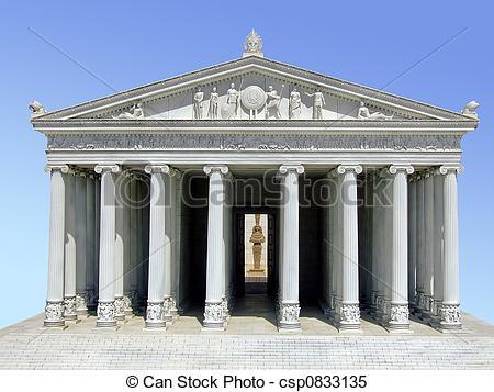 Ancient clipart parthenon  temple the Parthenon Stock
