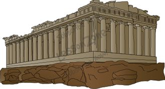 Parthenon clipart palace Art NZ Greek Collections Zone