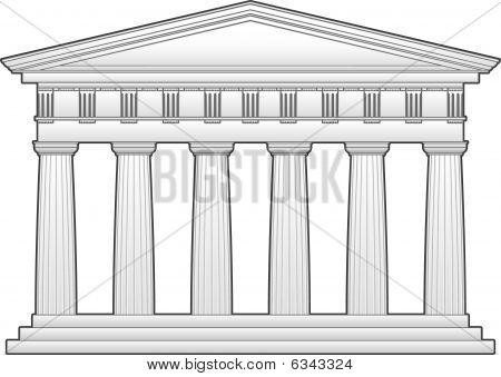 Parthenon clipart color Parthenon page  parthenon decorating