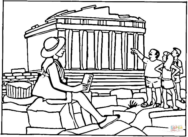 Parthenon clipart color Click page iPad it and