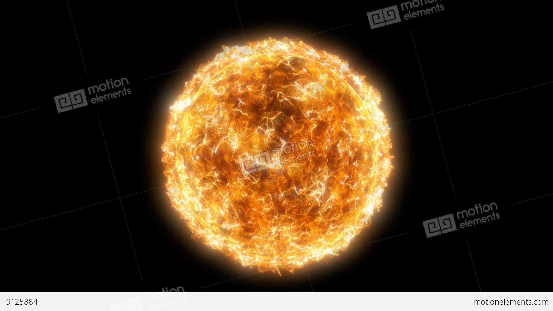 Particle clipart animated science Animation Looped  Star Video