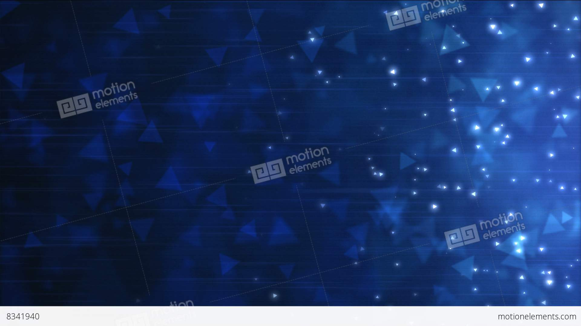 Particle clipart animated science Triangle Footage Blue Animation Loop