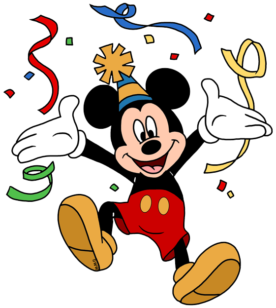 Celebration clipart cartoon Galore Disney Clip Birthday/Party Art