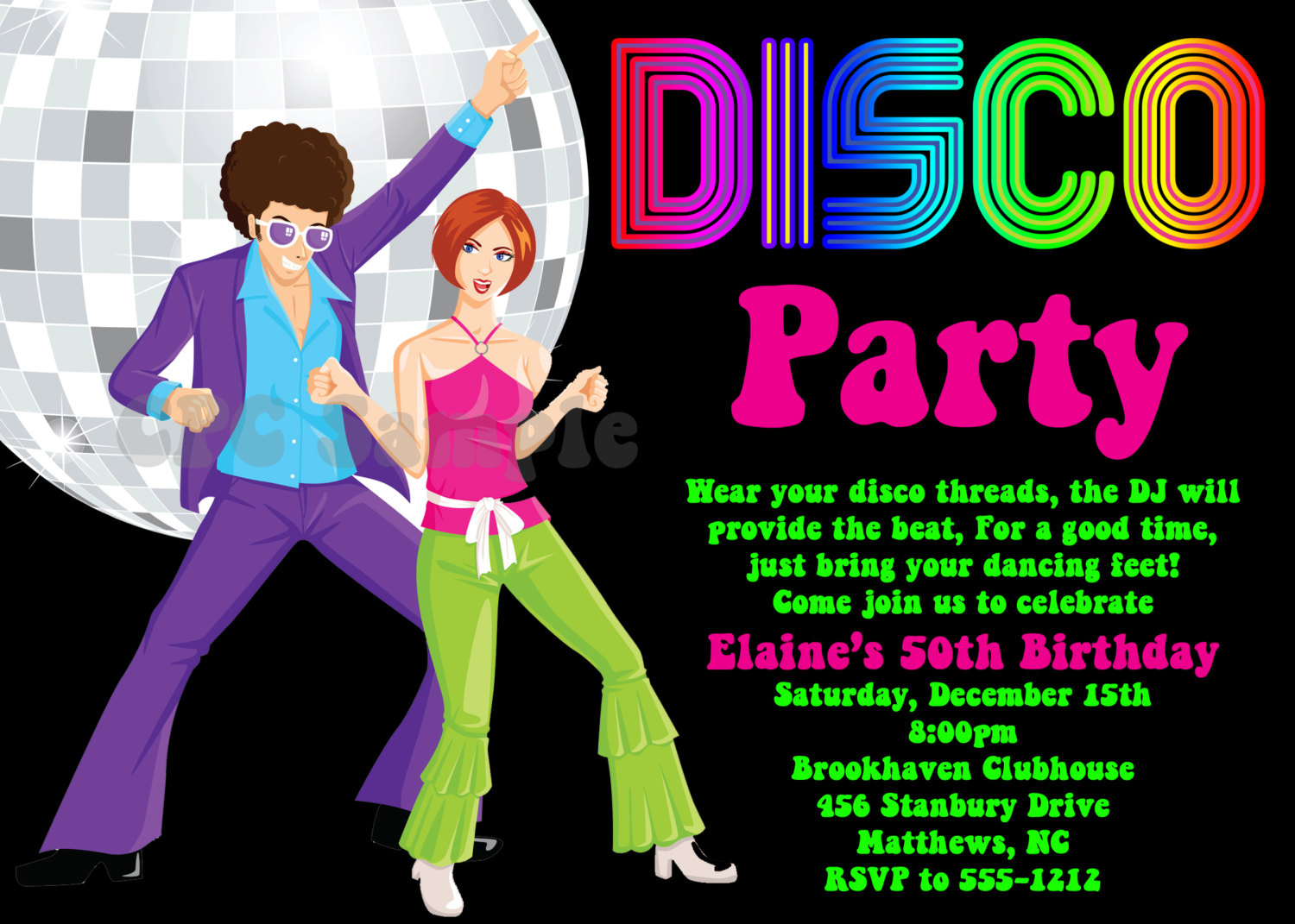Party clipart 70's Like 70s 90s Disco Disco