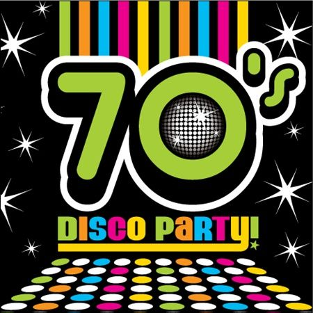 Party clipart 70's A Pinterest