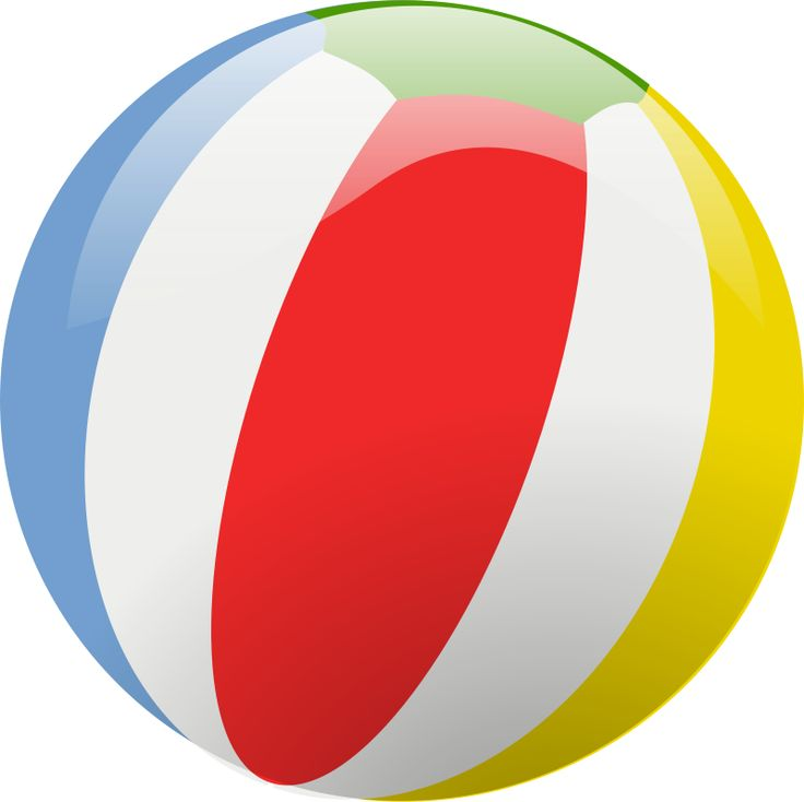 Party clipart beach ball Best toys art ball images