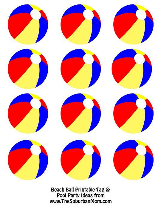 Party clipart beach ball Printable 25+ Beach Next Beach