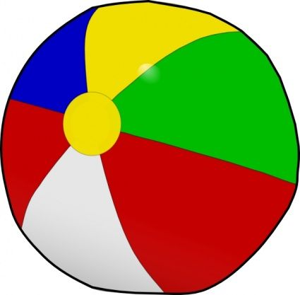 Party clipart beach ball Images party art party on