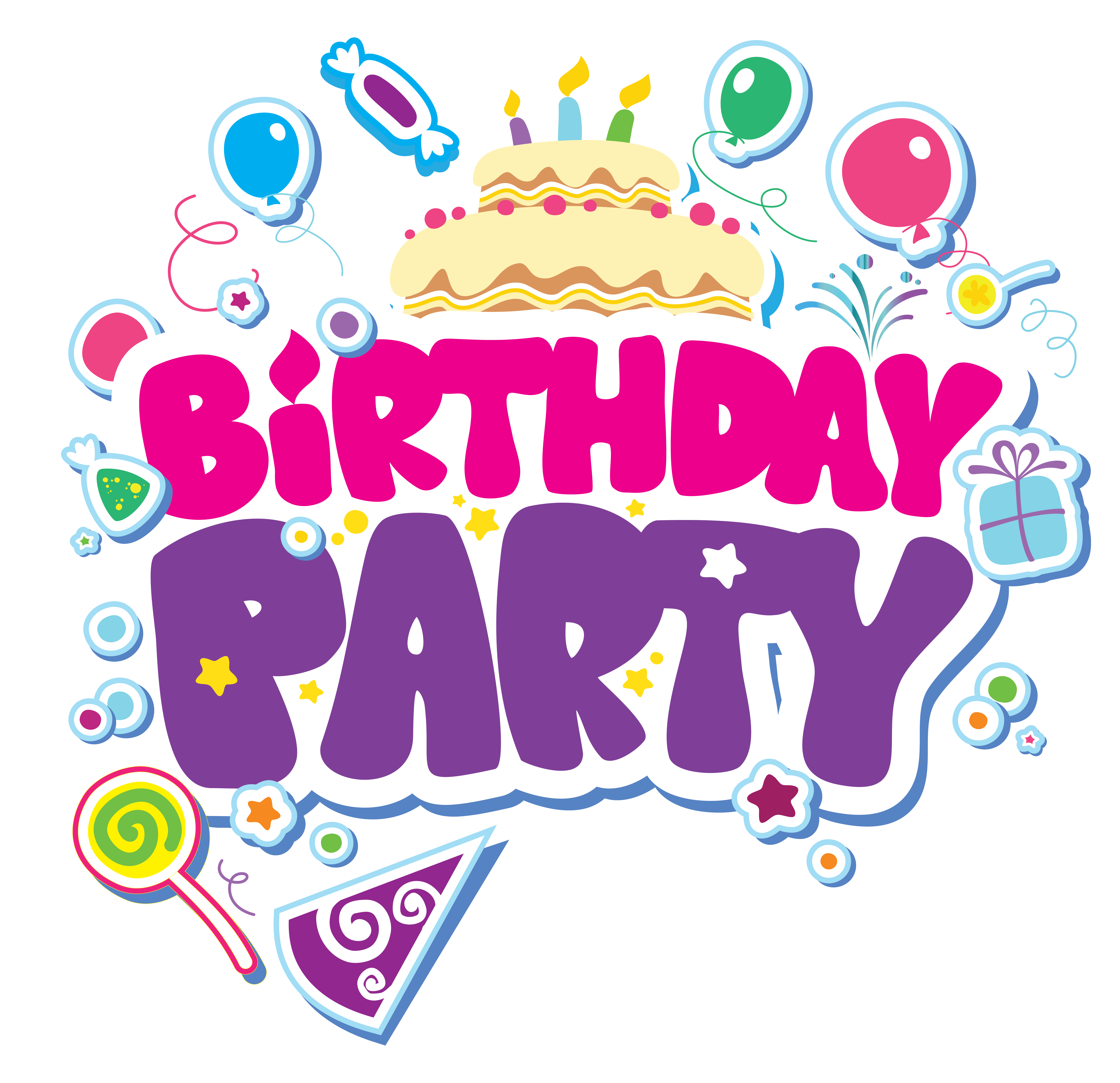 Celebration clipart birthday Picture PNG  Yopriceville Party