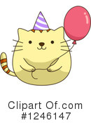 Party clipart cat #1246147 Clipart #1 Illustrations Royalty