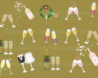 Champagne clipart party Clip clipart bottle party art